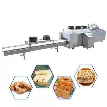 Cereal Granola Muesli Peanut Automatic Sniker Snack Caramel Industrial Protein Bar Production Line