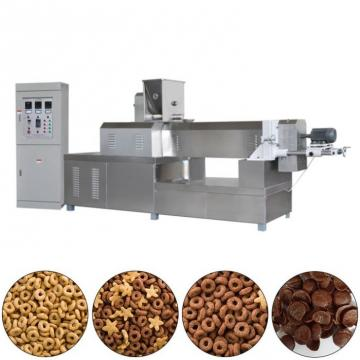 Twin Screw Core Filling Puffed Corn Snacks Food Extruder