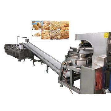 Cereal Oatmeal Bar Snacks Food Production Line