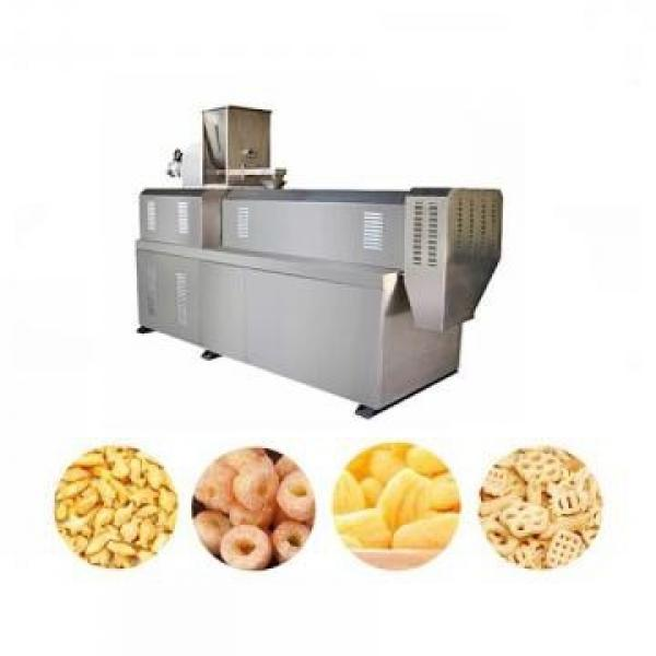 Rice Corn Wheat Grains Small Pillow Food Snack Extruder Extrusion Machine