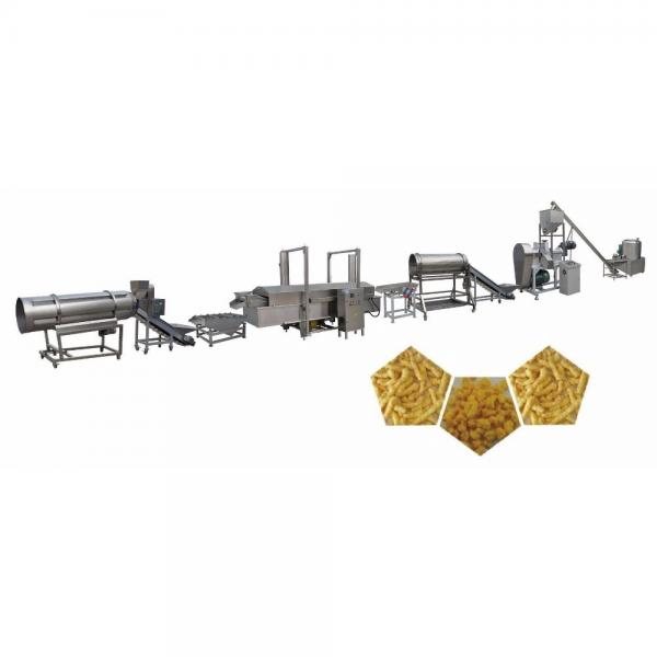 Full Automatic Stainless Steel Puffed Corn Curls Cheetos Making Machine
