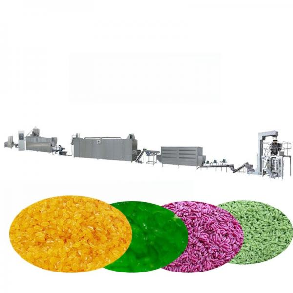 Full Automatic Artificial Rice Making Machine Nutrition Rice Production Line Instant Rice Processing Line