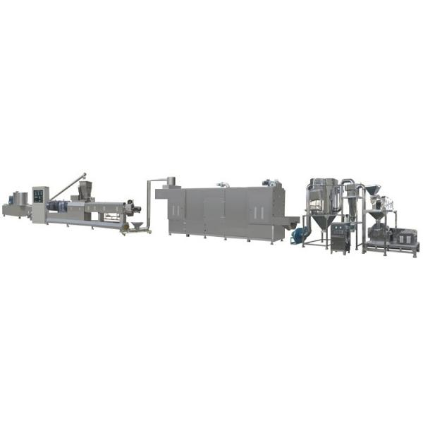 Cost-Saving Automatic Artificial Rice Making Machine Artificial Nutritional Rice Food Screw Extruder Making Machine Automatic Artificial Rice Processing Line