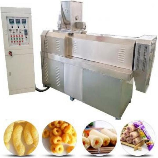 Puff Snack Food Making Plant Extruded Corn Snacks Processing Machinery