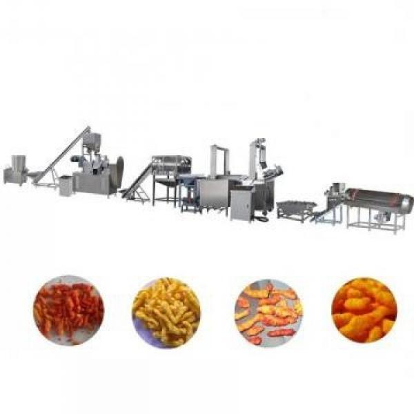 Mini Small Snack Food Pop Rice Puffed Corn Flakes Cornchips Stick Processing Puffs Flakes Snack Making Extruder Machine