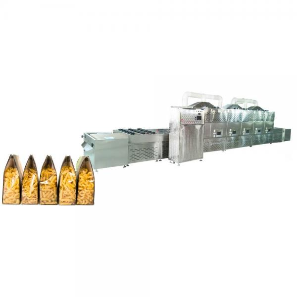 Industrial Tunnel Microwave Green Tea Leaves Drying Machine