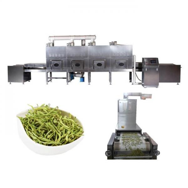 Continuous Belt Microwave Spice Drying Sterilization Machine