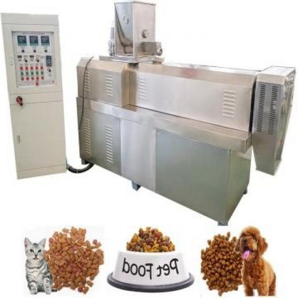 Stainless Steel Pet Dog Cat Food Extruder Machine
