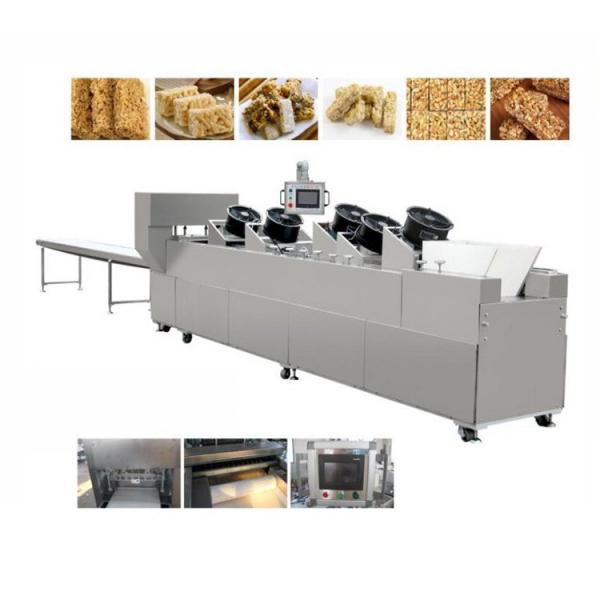 Snack Food Compound Cereal Candy Bar Automatic Chocolate Making Machine