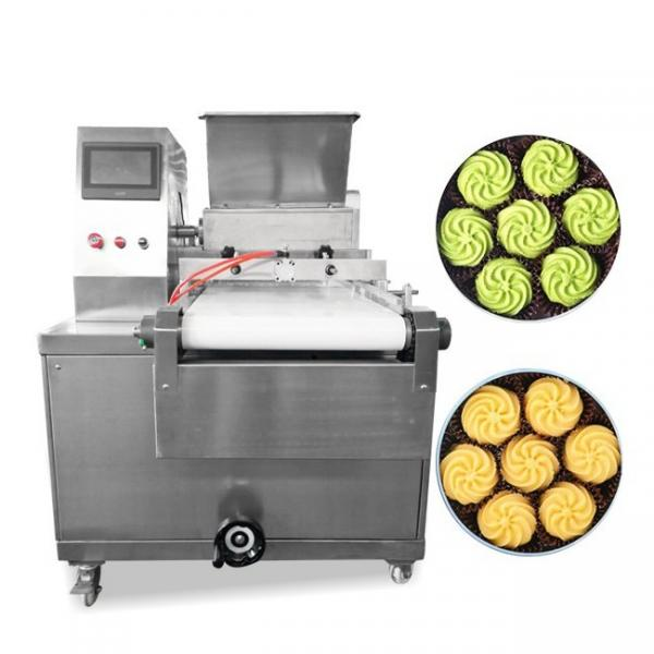 Wafer Biscuit Cereal Bar Chocolate Coating Enrobing Machine with Cooling Tunnel