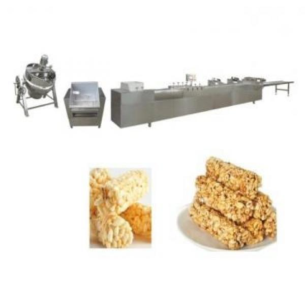 Chocolate Cereals Bar Core Filling Puff Snacks Food Machine