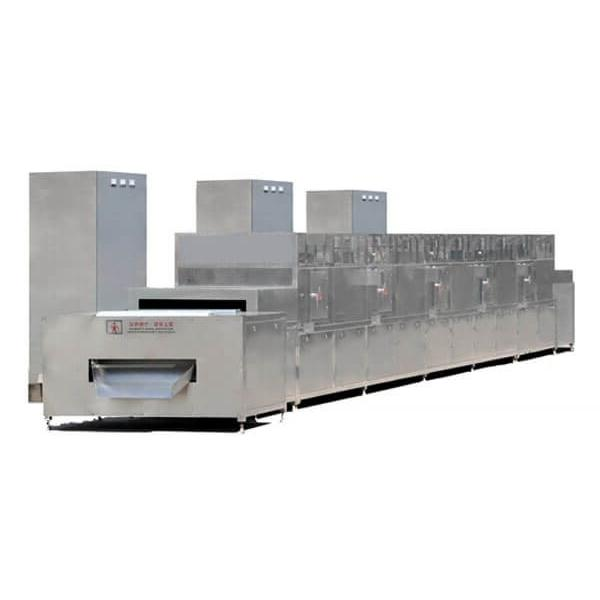 Large Industrial Continuous Microwave Food Belt Type Fruit and Vegetable Drying Machine
