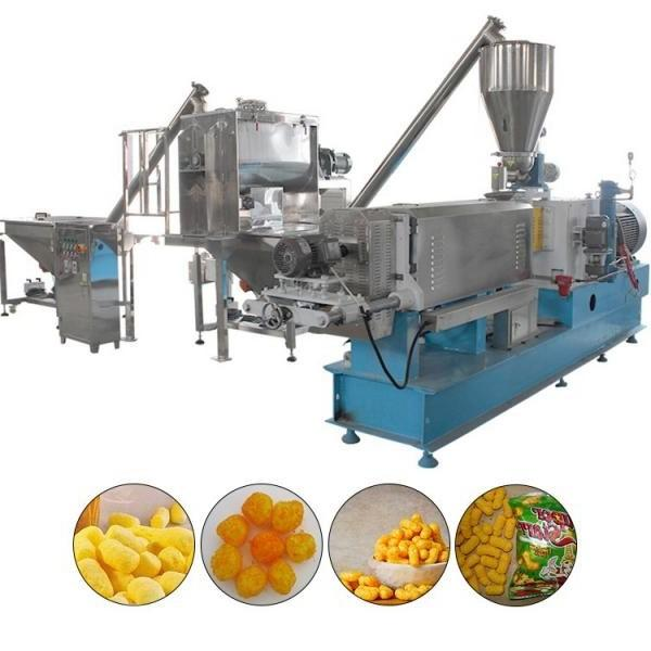 Puffed Snack Extruder Food Extrusion Corn Cheetos Cheese Curls Balls Making Machine