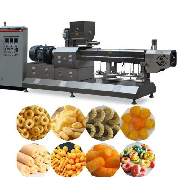 Twin Screw Snack Extruder/Snack Food Extruder/Puff Corn Extruder Machine From China Factory Manufacturer
