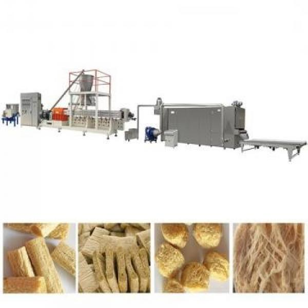 Automatic Tvp Tsp Textured Soy Protein Food Extruder Machine Processing Line Puffed Textured Soy Protein Tsp Tvp Processing Line Machine
