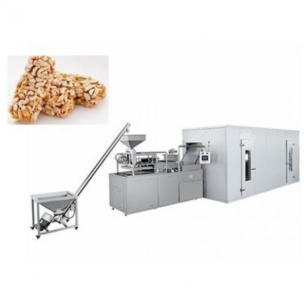 Chocolate Coated Oat Bar Cereal Candy Bar Production Line